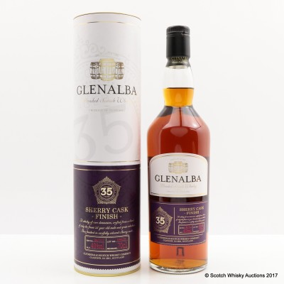Glenalba 35 Year Old Sherry Cask