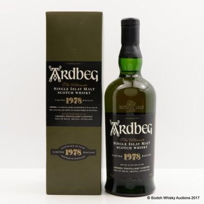 Ardbeg 1978 1998 Release