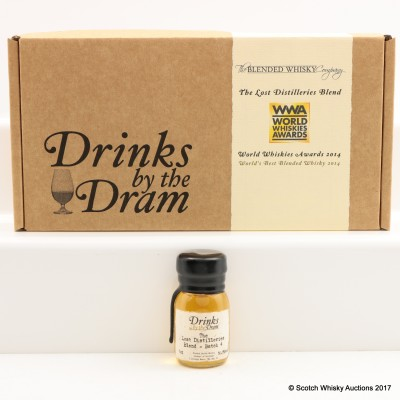 Lost Distilleries Blend Batch #4 Drinks By The Dram Mini 3cl