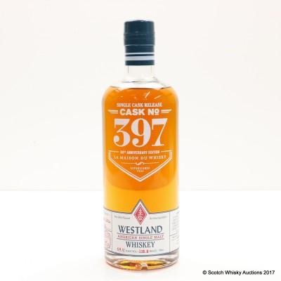 Westland Single Cask #397 for La Maison du Whisky 60th Anniversary