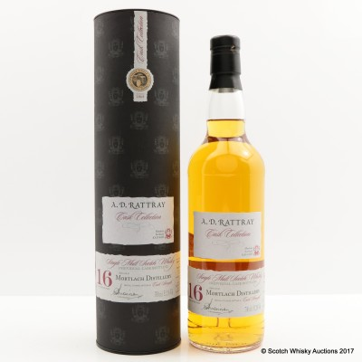 Mortlach 1995 16 Year Old A.D. Rattray
