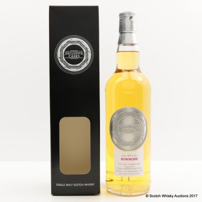 Bowmore 2002 11 Year Old Exclusive Casks