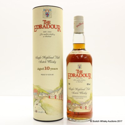 Edradour 10 Year Old Old Style