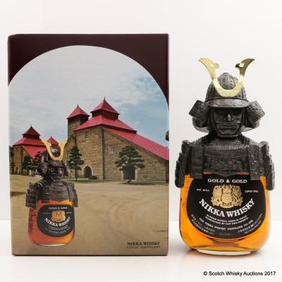Nikka Gold & Gold Samurai 75cl