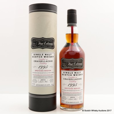 Craigellachie 1995 21 Year Old First Editions