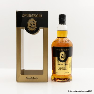 Springbank 21 Year Old for Symposion Sweden