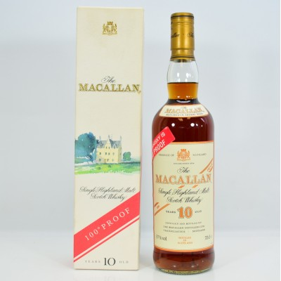 Macallan 100° Proof 10 Year Old