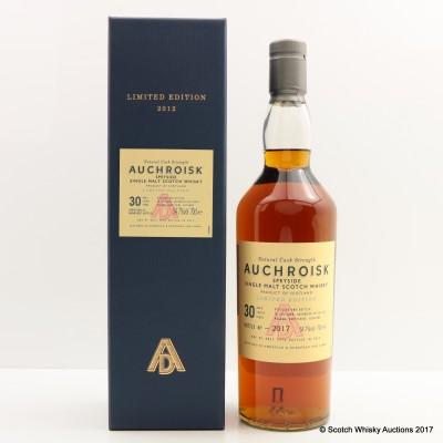 Auchroisk 30 Year Old 2012 Release