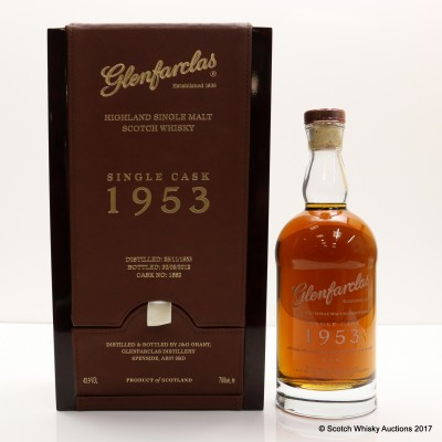 Glenfarclas 1953 Single Cask #1682