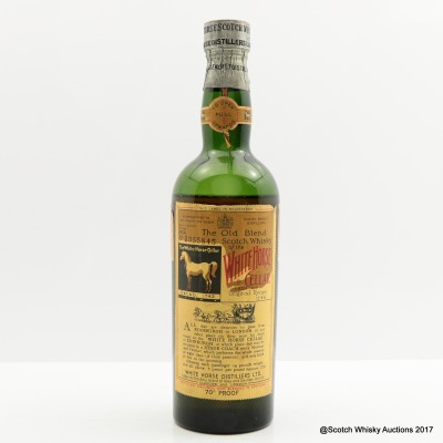 White Horse 1956 70° Proof