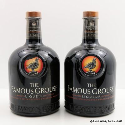 Famous Grouse Liqueur 1L x 2