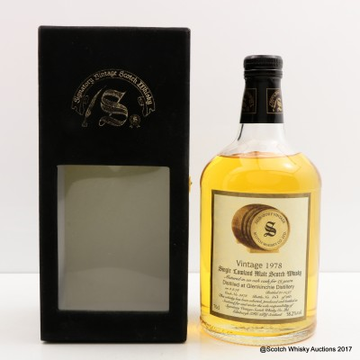 Glenkinchie 1978 19 Year Old Signatory