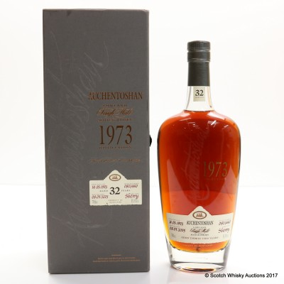 Auchentoshan 1973 32 Year Old