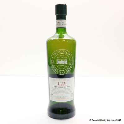 SMWS 4.221 Highland Park 1999 16 Year Old