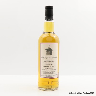Ben Nevis 1996 20 Year Old Whisky Broker