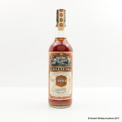 Glenesk 1981 Jack Wieber's Whisky World 20th Anniversary Bottling