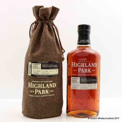 Highland Park 2004 12 Year Old For 100 Years of Finnish Independence Single Cask #1536