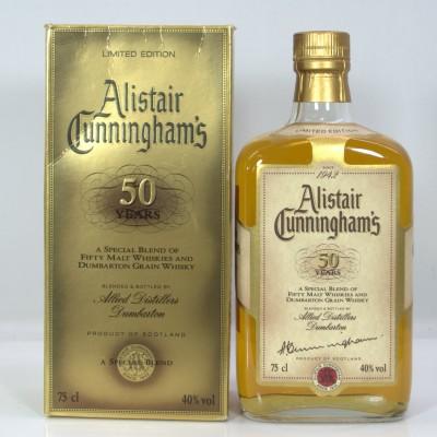 Alistair Cunningham 50 Years 50 Malts