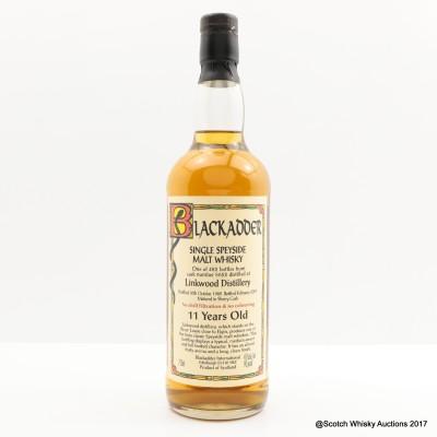 Linkwood 1989 11 Year Old Blackadder 75cl