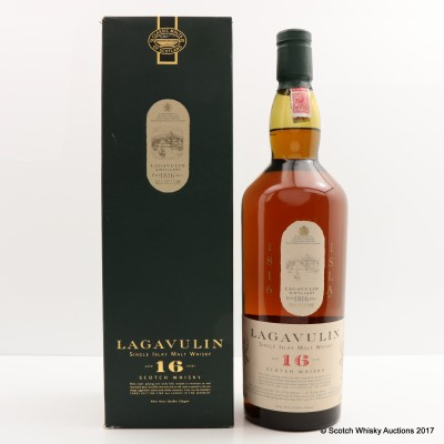 Lagavulin 16 Year Old White Horse Bottling 1L