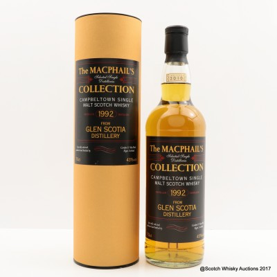 Glen Scotia 1992 Macphail's Collection