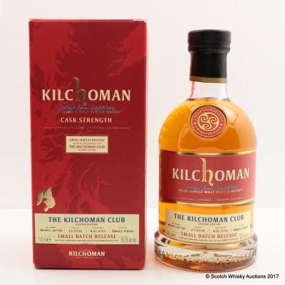 Kilchoman 2008 Small Batch Release For The Kilchoman Club 2nd Edition