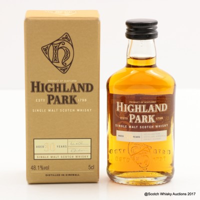 Highland Park 30 Year Old Mini 5cl