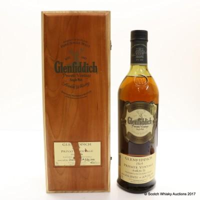 Glenfiddich 1964 Private Vintage