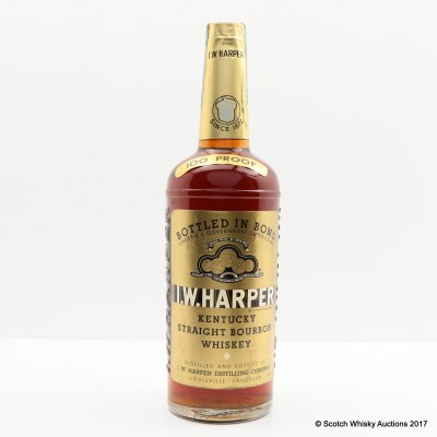 I.W. Harper 100° Straight Bourbon Whiskey 4/5 Quart