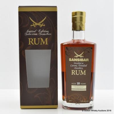 Caroni 1997 18 Year Old Rum Single Cask #104 Sansibar