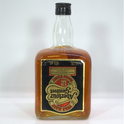 Aberlour-Glenlivet 12 Year Old Gantry Bottle 1.13L
