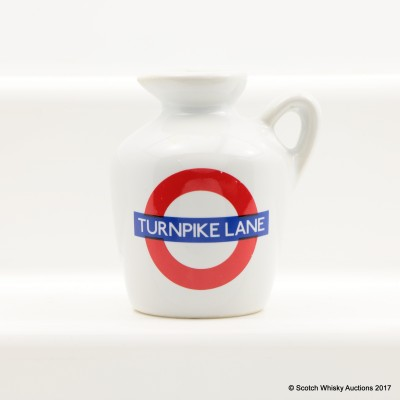 Macallan 10 Year Old Underground Series Turnpike Lane Ceramic Mini 5cl