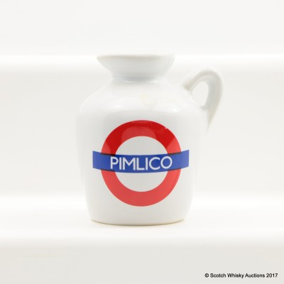 Macallan 10 Year Old Underground Series Pimlico Ceramic Mini 5cl