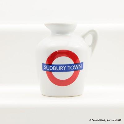 Macallan 10 Year Old Underground Series Sudbury Town Ceramic Mini 5cl