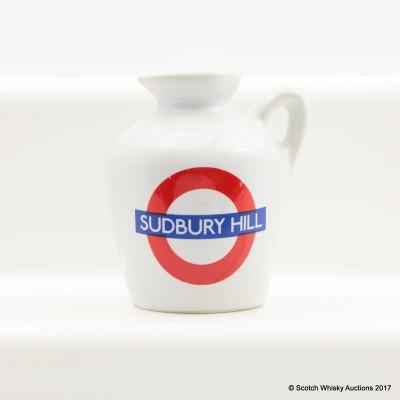 Macallan 10 Year Old Underground Series Sudbury Hill Ceramic Mini 5cl