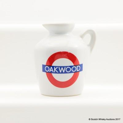 Macallan 10 Year Old Underground Series Oakwood Ceramic Mini 5cl