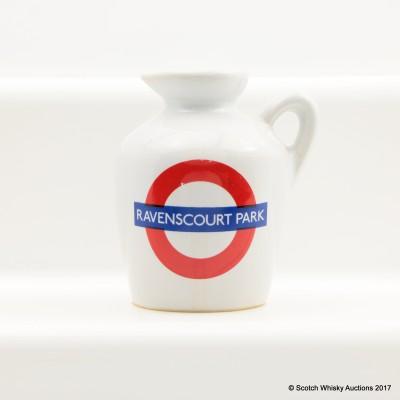 Macallan 10 Year Old Underground Series Ravenscourt Park Ceramic Mini 5cl