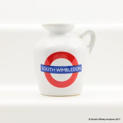 Macallan 10 Year Old Underground Series South Wimbledon Ceramic Mini 5cl