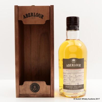 Aberlour 15 Year Old Hand Filled Bourbon Cask