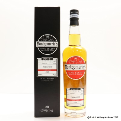 Inchgower 1990 Montgomerie's Rare Select