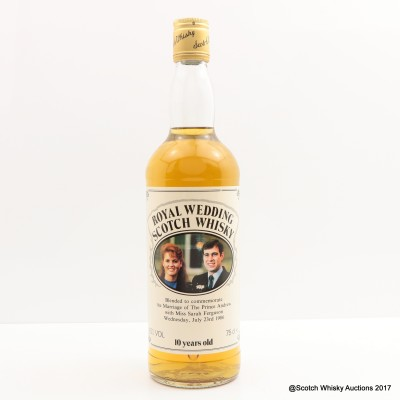 Royal Wedding Scotch Whisky 10 Year Old 75cl
