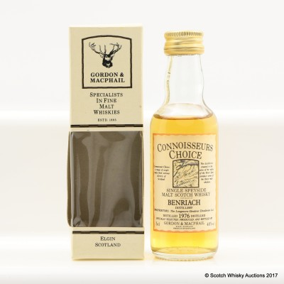 Benriach 1976 Connoisseurs Choice Mini 5cl