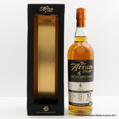 Arran Private Cask 1996 17 Year Old for Kammer-Kirich