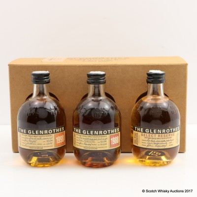 Glenrothes Mini Collection 3 x 10cl