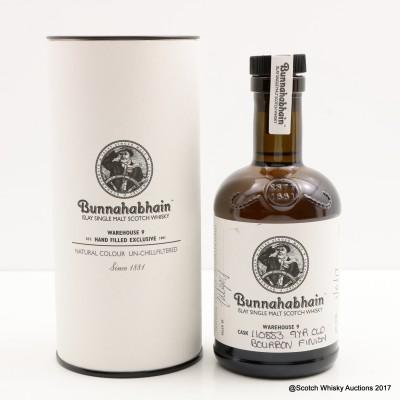 Bunnahabhain 9 Year Old Hand Filled Bourbon Finish 20cl