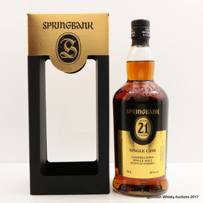 Springbank Open Day 2017 21 Year Old Port Cask