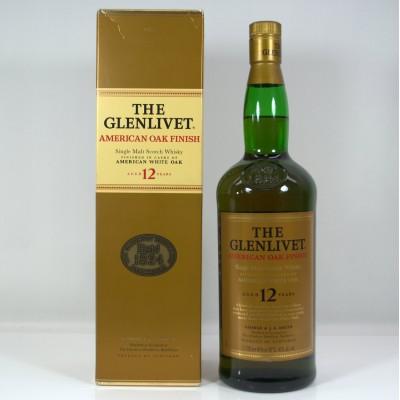 Glenlivet American Oak Finish 12 Year Old 1L