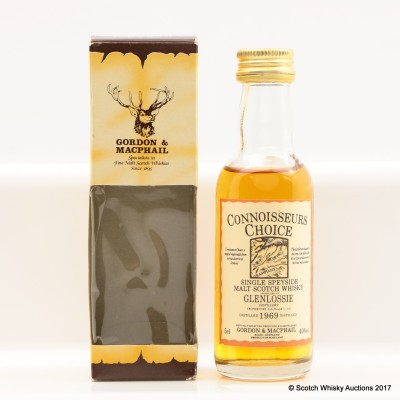 Glenlossie 1969 Connoisseurs Choice Mini 5cl