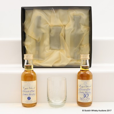 Arran Royal Island Minis 2 x 5cl with Glass