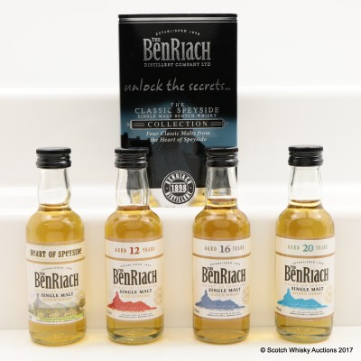 BenRiach Mini Collection 4 x 5cl